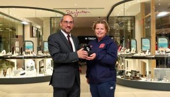 Peter Jackson Blackburn Rovers Ladies