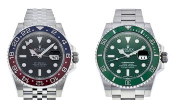 Rolex GMT Master and Submariner Hulk