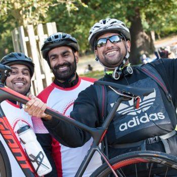 Princes trust bike ride