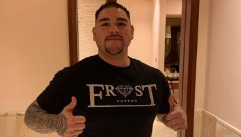 Andy Ruiz Jr pre fight