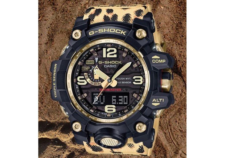 G-Shock leopard x