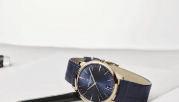 NEW Vacheron Constantin Patrimony Blue – Self-Winding, Small Model (Lifestyle)