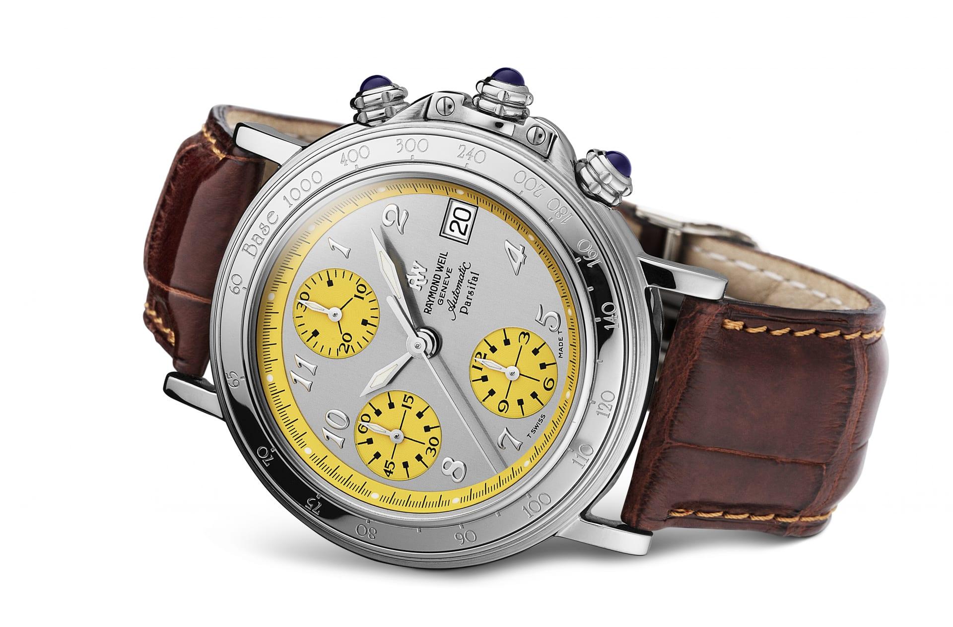 Raymond Weil CEO Elie Bernheim First Watch