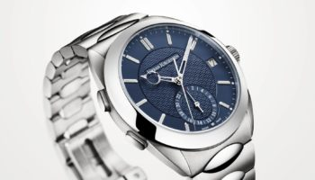 UJ Jurgensen ONE Ref 5541 GMT Blue 3Quarter LightBG
