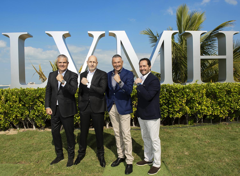 LVMH Watch Week 2020-Ricardo Guadalupe, Stephane Bianchi, Jean-Christophe Babin, Julien Tornare (2)