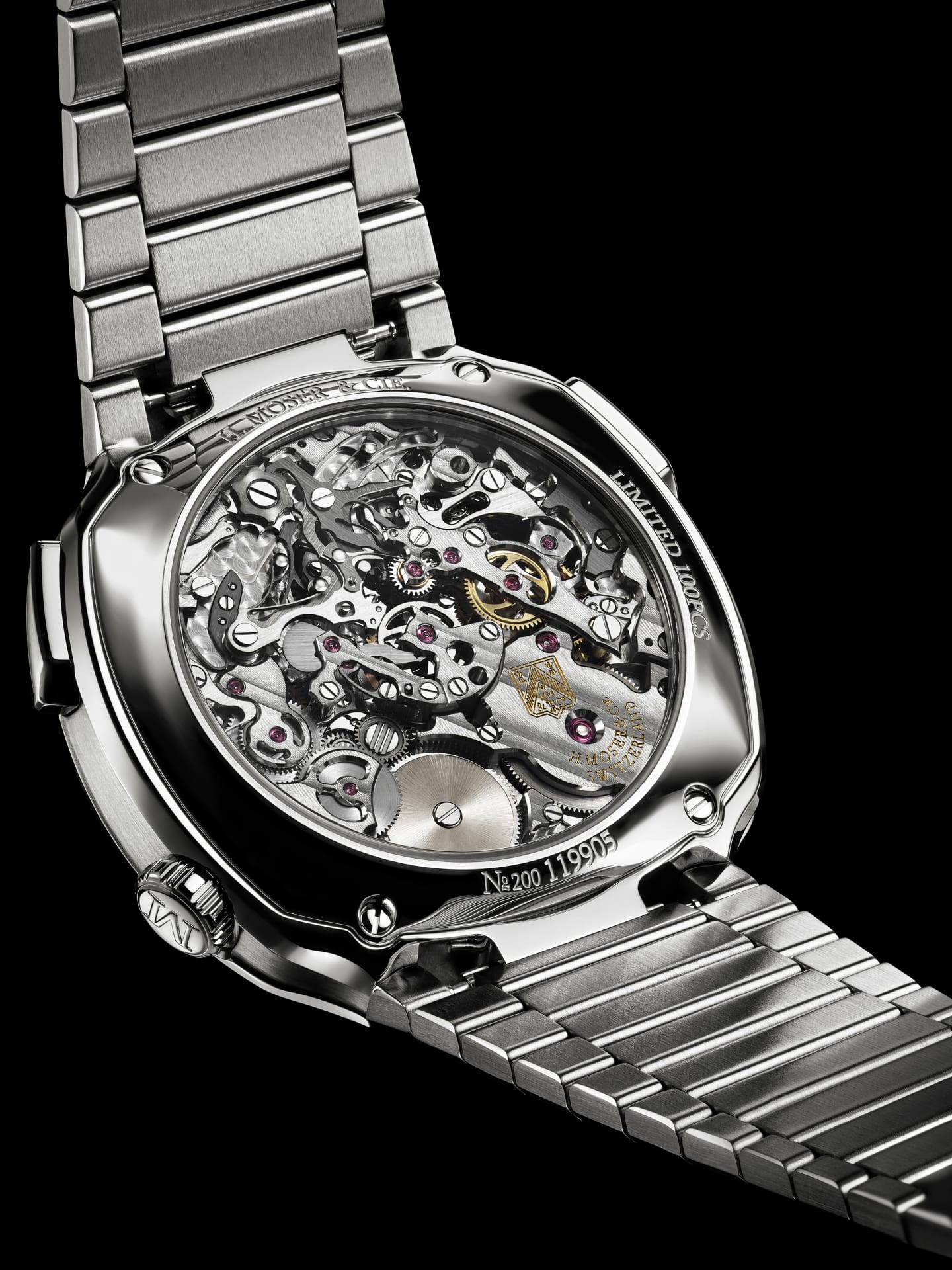 h moser cie enters crowded market for premium steel sports watches h moser cie enters crowded market
