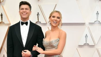 Colin Jost wearing TAG Heuer
