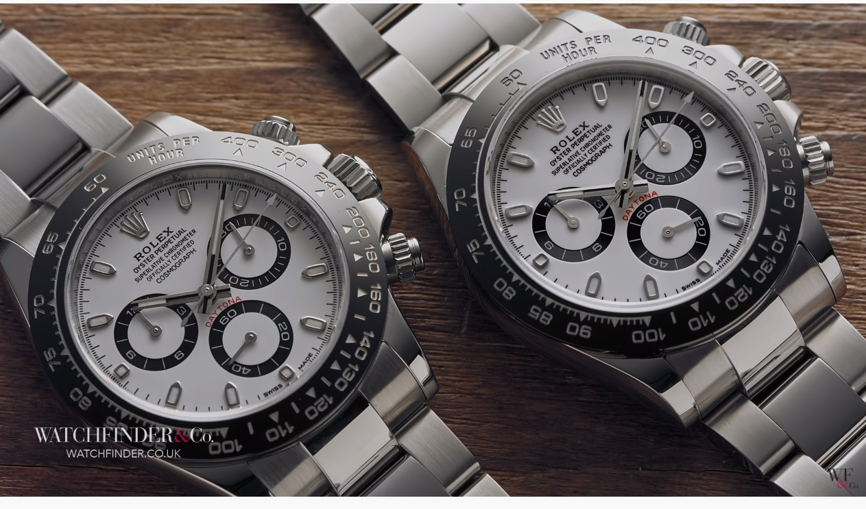 Fake Rolex Daytona video watchfinder