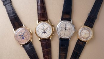 Jean-Claude Biver Patek Philippe Collection 1518, 2499, 1579 and 96HU