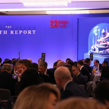 Knight Frank Wealth report 2020 dinner