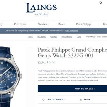 Patek Philippe online
