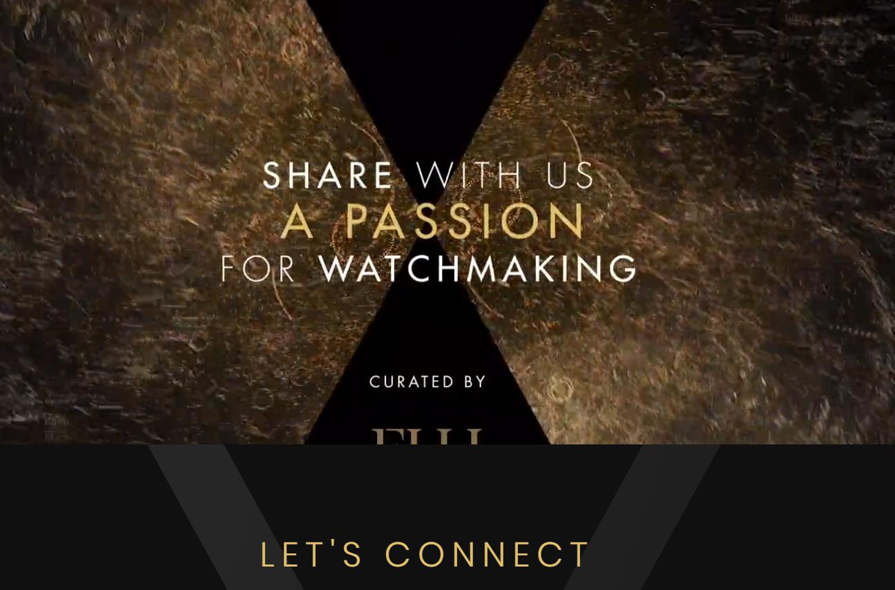 Watches & Wonders website