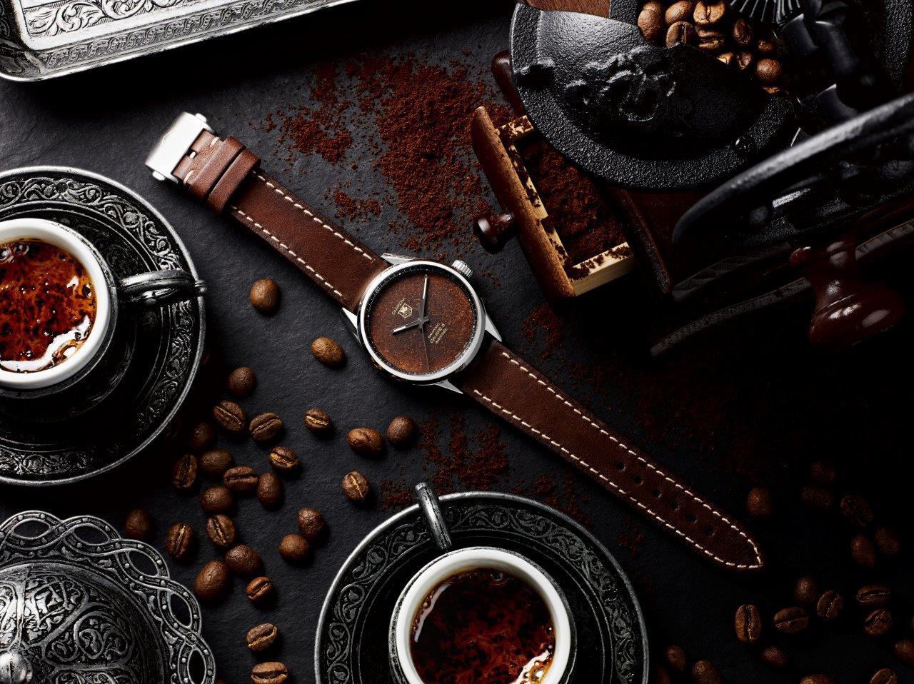 BWDxBadgerworks_TAG Heuer Carrera Calibre 5_Coffee_Steel_Lifestyle