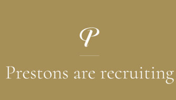 Prestons are Recruiting