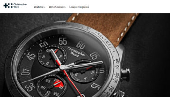 Christopher Ward website