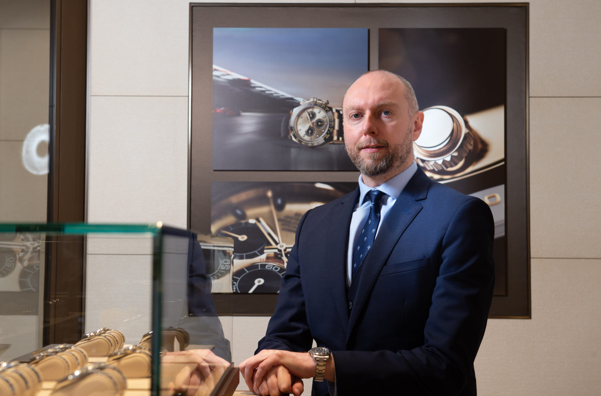 WATCHES OF SWITZERLAND GROUP SCOTLAND'S FIRST DEDICATED ROLEX BOUTIQUE IN GLASGOW.
