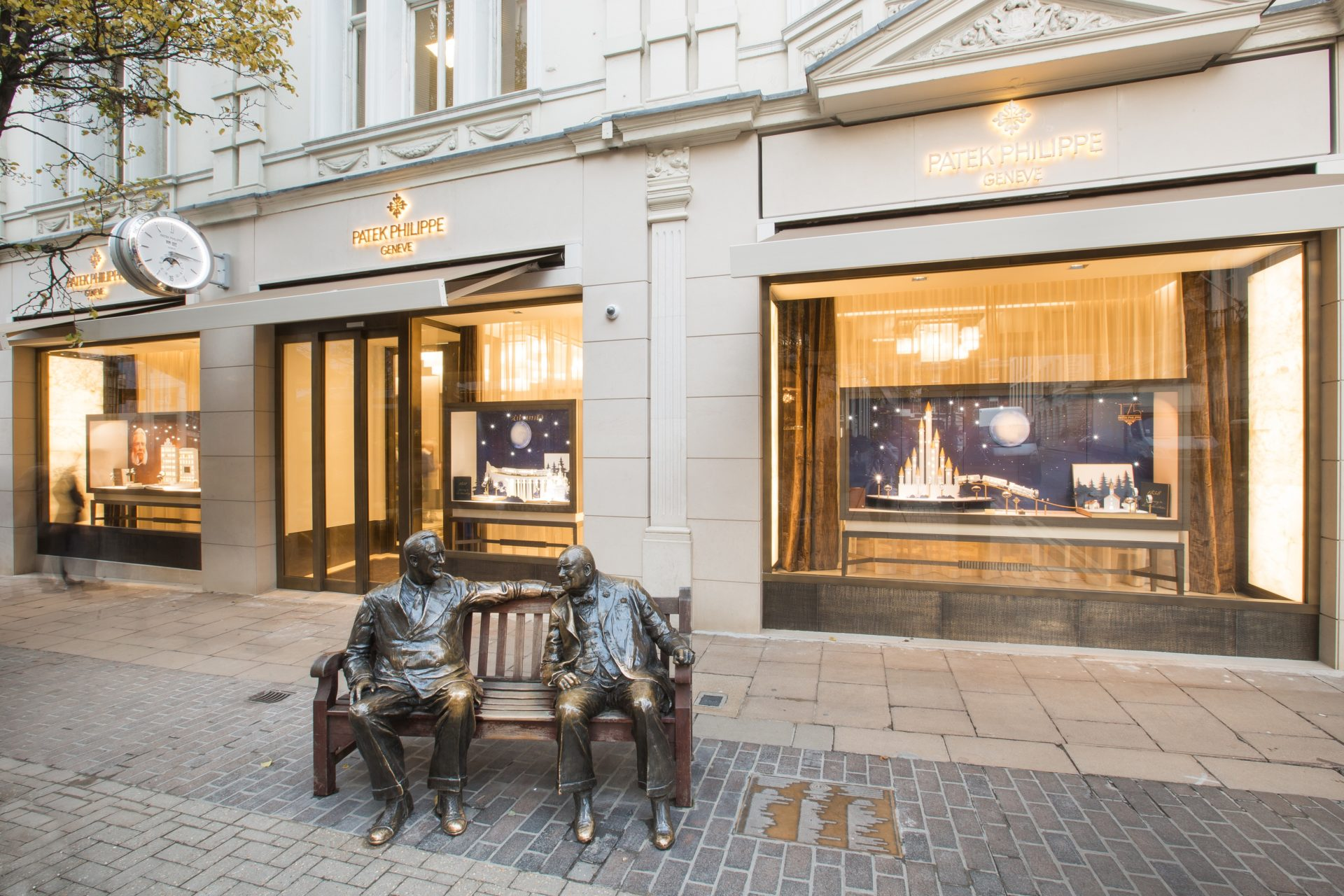 Patek Philippe London Salon – Front view lower