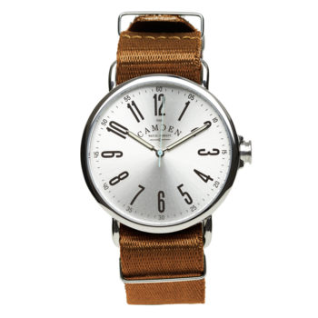 The Camden Watch Company No.88 Steel and Camel Nato