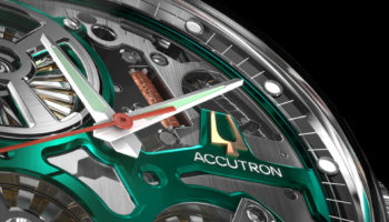 Accutron Space Detail