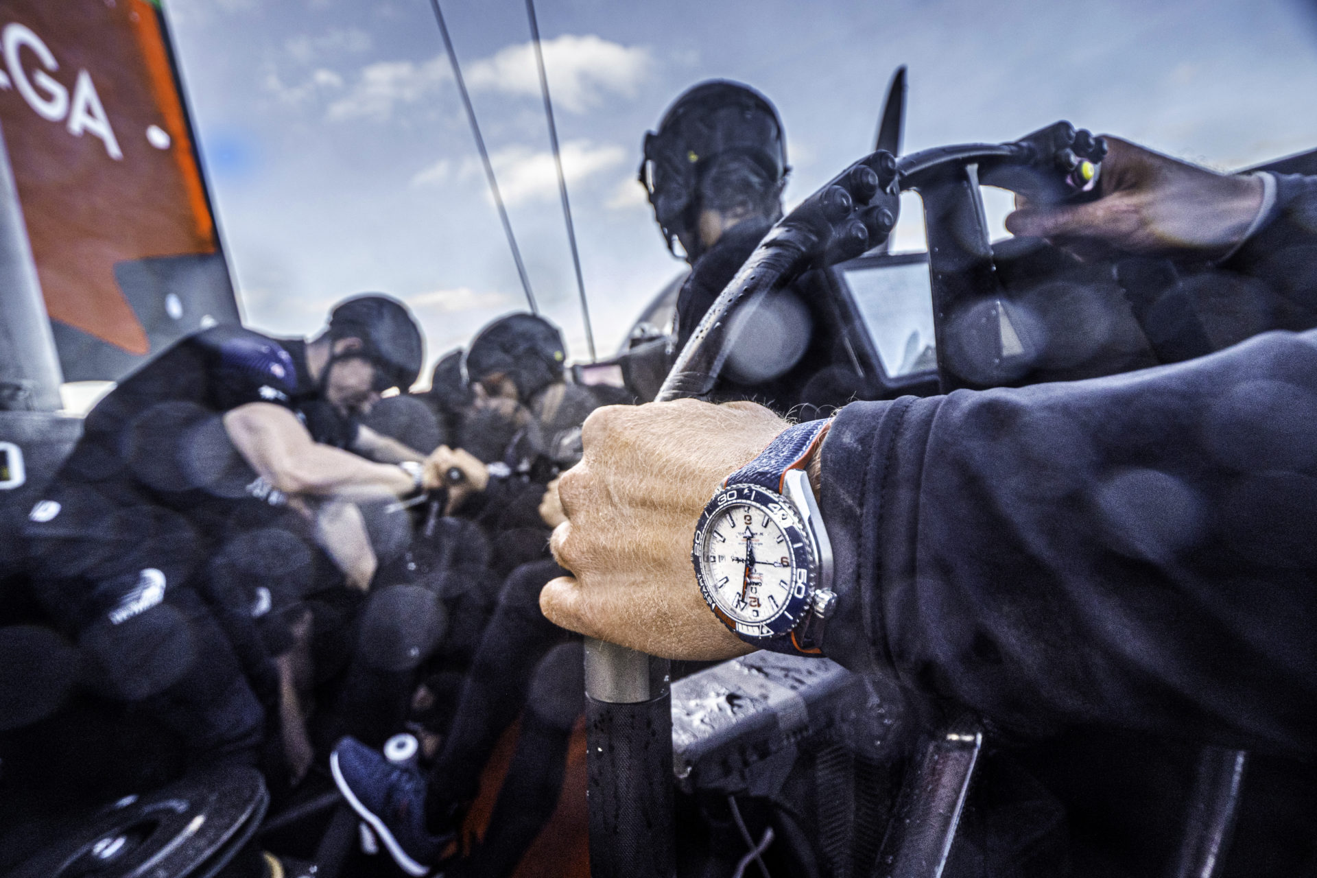 Emirates Team New Zealand's AC75 'Te Aihe' on the Waitemata Harbour in Auckland, New Zealand36th America's Cup