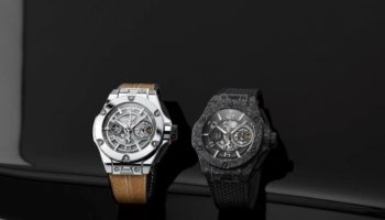 Big Bang Ferrari 1000 GP in white gold and in carbon ceramic
