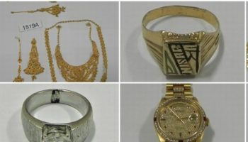 Rolex and jewellery