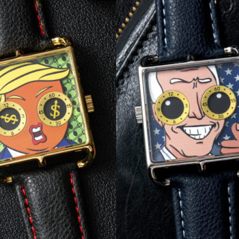 Tump and Biden Happiewatches