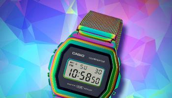 Casio Vintage Rainbow