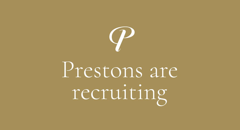 Prestons-are-Recruiting
