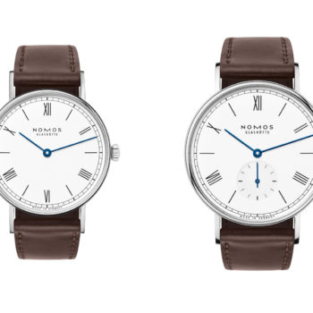 1 NOMOS Ludwig emailleweiss