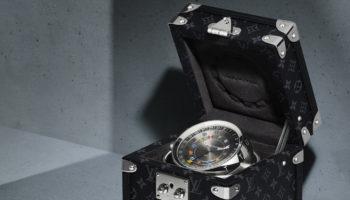 Louis Vuitton trunk clock