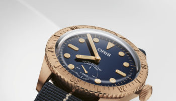 01 401 7764 3185-Set – Oris Carl Brashear Calibre 401 Limited Edition