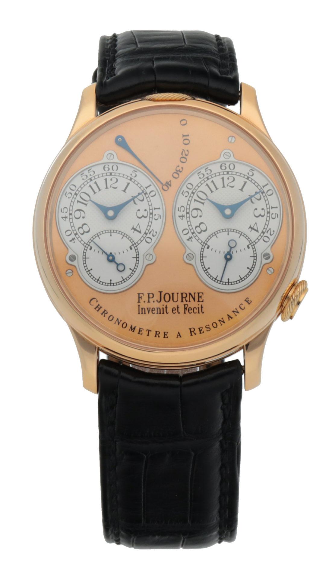 2002 F.P. Journe Chronomètre à Résonance achieved $261,386 in Geneva in November.
