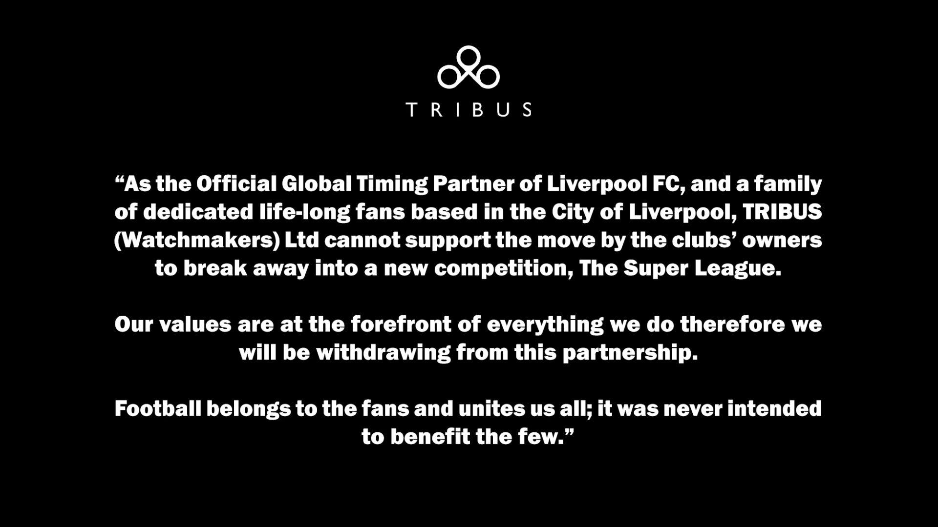 Tribus European Super League.